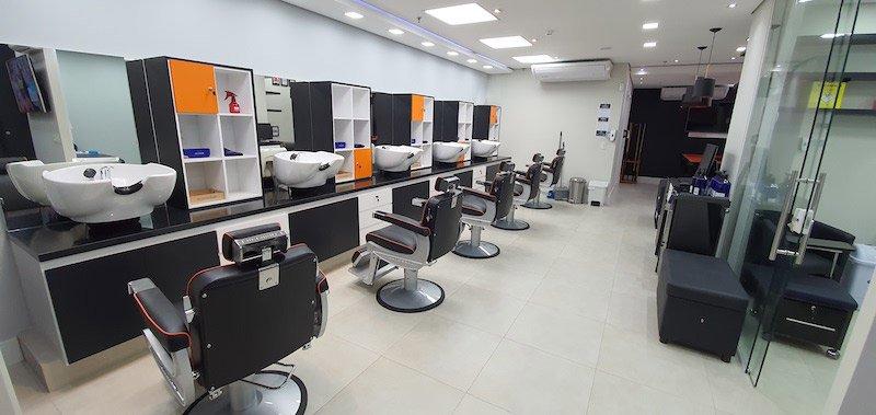 Barbearia na Unidade Arena