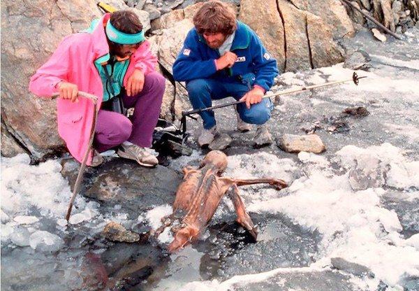 Descoberta da Mumia Ötzi