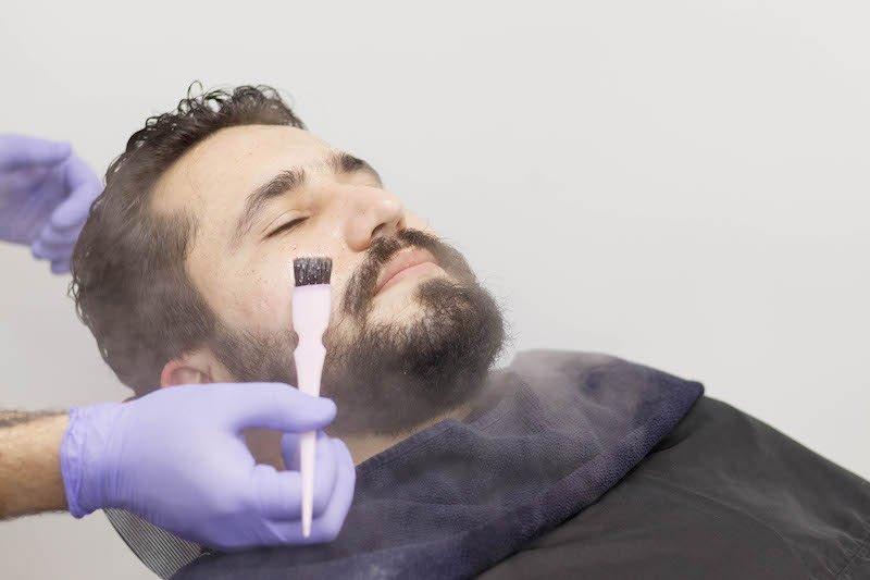 Barboterapia - Esfoliação
