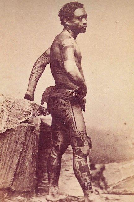 Estilo de Tatuagem Maori