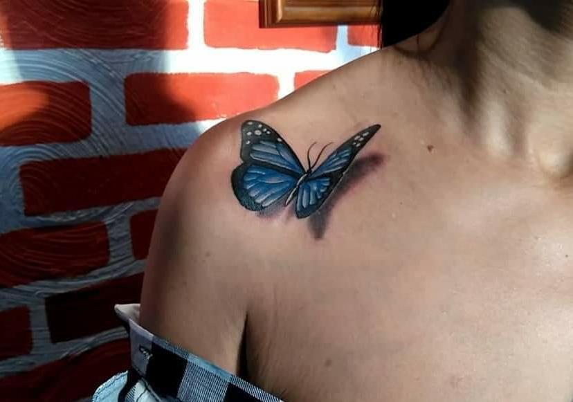 Tatuagem Hiper-Realista e 3D