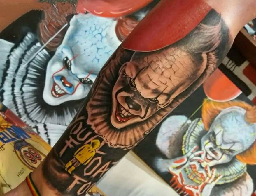 Tatuagem Hiper-Realista Colorida