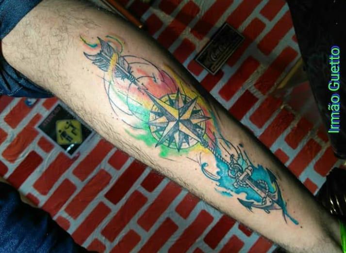Tatuagem - Aquarela