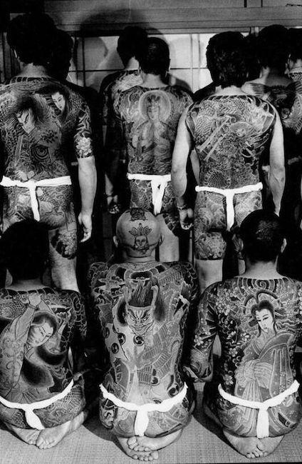 Estilo de Tatuagem da Yakuza
