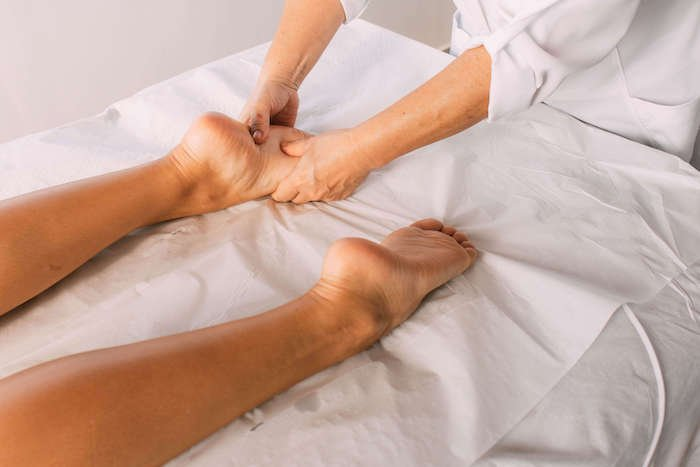 Massagem Ayurvédica nos pés