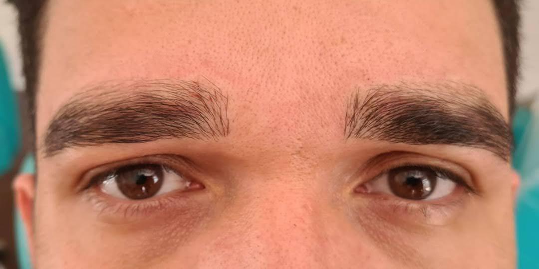 Micropigmentação de Sobrancelhas Masculina